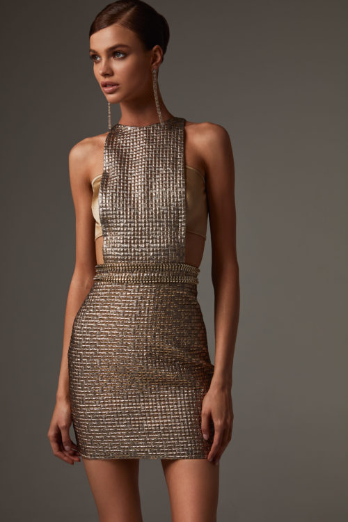 Short Party Sequin Dress