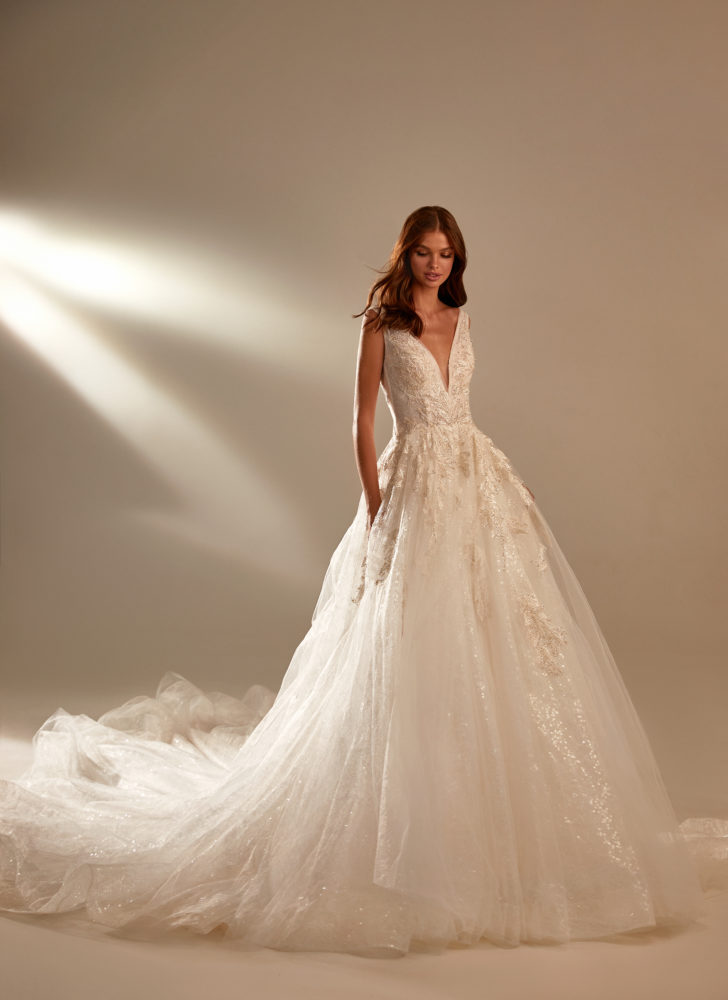 milla nova wedding princess dress from 2021 collection.