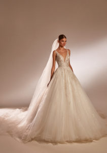 Milla Nova Shirley wedding dress a-line princess