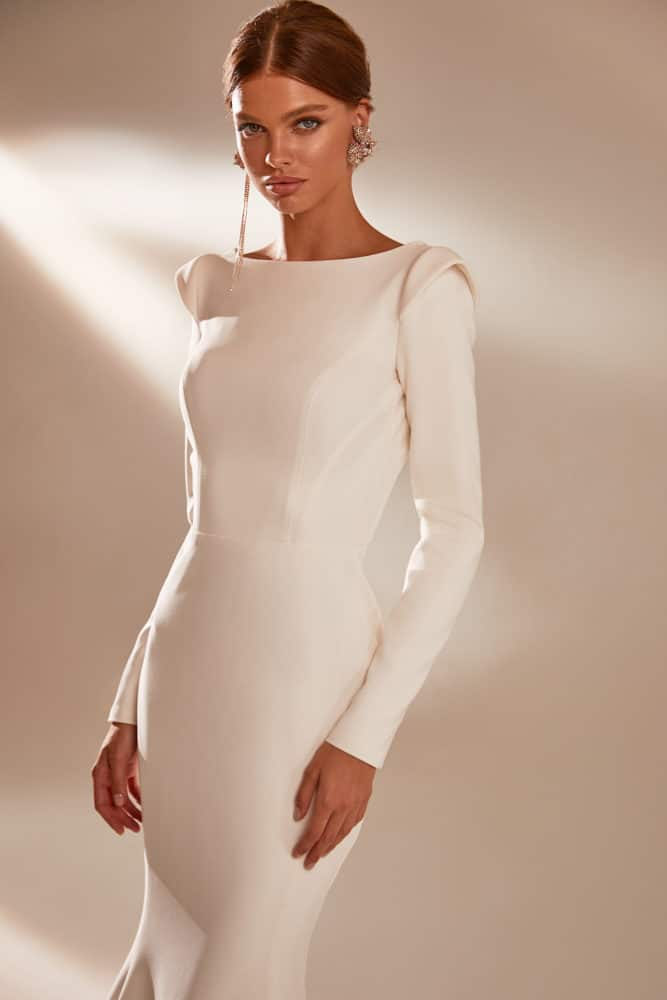 Claire Long Sleeve Wedding Dress