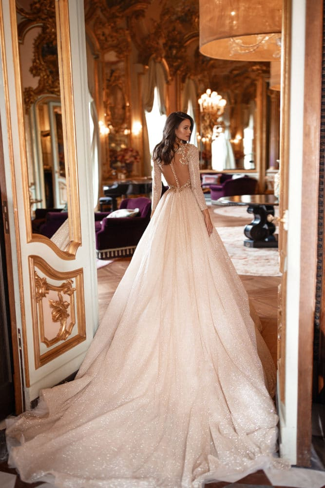 Constance Wedding Dresses with train Milla Nova