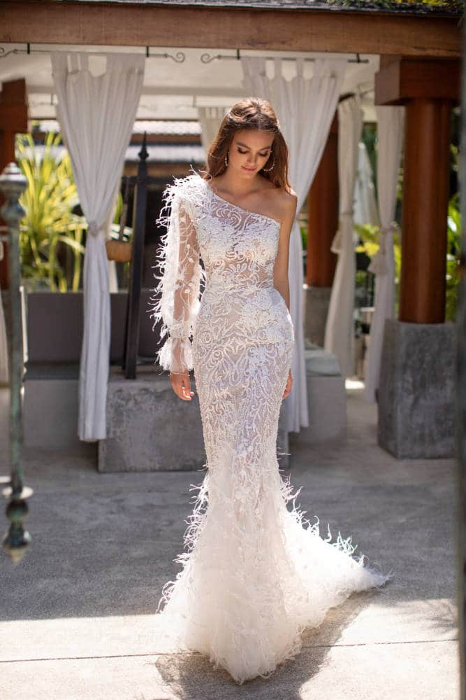 Dorofeya-Feather-Mermaid-Wedding-Dress-Milla-Nova