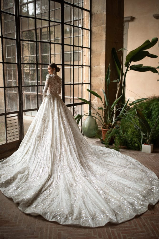 Helen Train Wedding Dress from Milla Nova