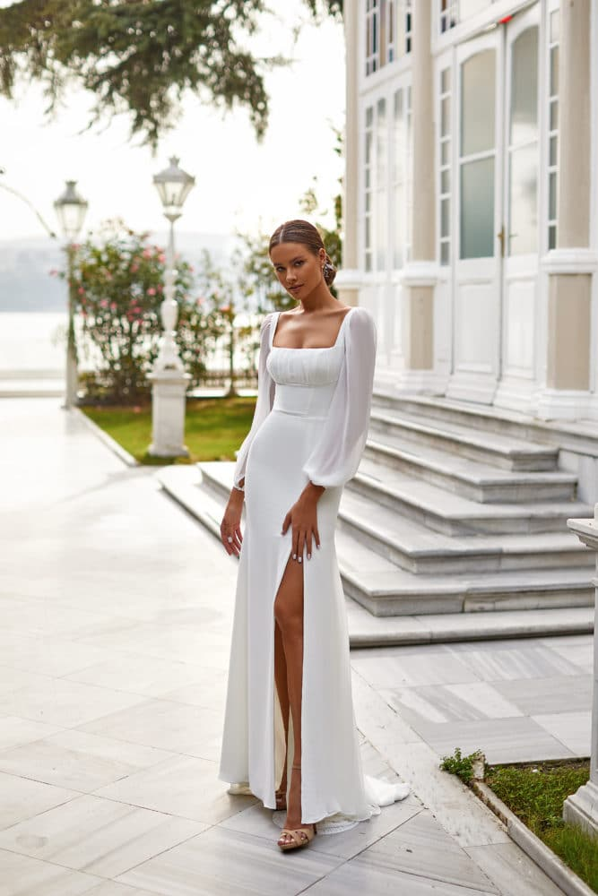 Wedding Dress for Winter Wedding from Milla Nova